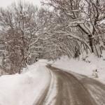Verso Montefiore - Inverno