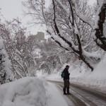 Verso Montefiore - Inverno 2