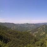 Vista dal Passo della Braccina